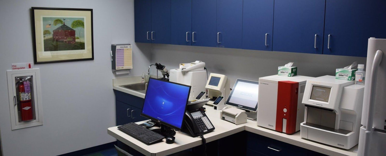 Mercersburg Veterinary Clinic In-house Lab